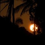 Atardecer en Thazhuppu, Kerala