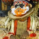 Danza Kathakali, el mono