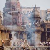 Manikarnika crematorio, Varanasi