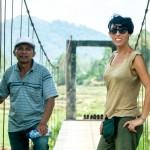 Bule con John Rante, el guía de Tana Toraja