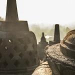 Detalle estupa de Borobudur (Yogyakarta, Java)