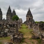 Vista general Prambanan (Yogyakarta, Java)