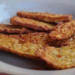 Tempeh Goreng para el Desayuno en Gorontalo